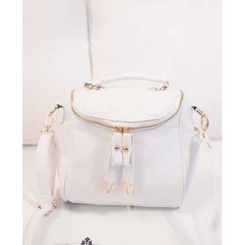 c506fd749ac Cool Cute Fashion Pure Message Bag Crossbody Bag - White [grhmf22000178]